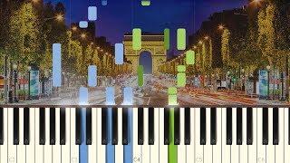 Les Champs-Élysées - Joe Dassin [Piano Tutorial] (Synthesia)