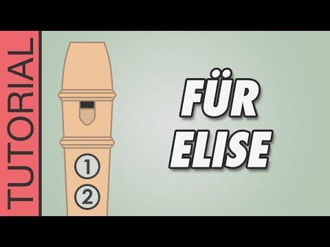 Comment jouer La Lettre à Elise à la flûte