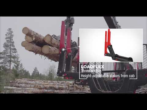 Komatsu Forest Load space - More flexibility and productivity