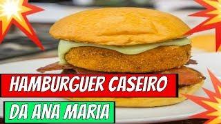 Passo a Passo ➡️➡️de Hamburguer Caseiro Carmemburguer da Ana Maria Braga Hoje 10 05 19