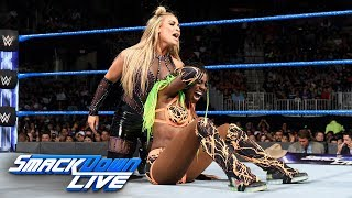 Naomi & Becky Lynch vs. Natalya & Carmella: SmackDown LIVE, Aug. 1, 2017