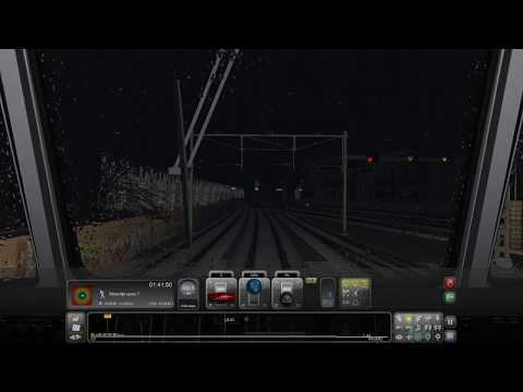07 Nachttrein van Amsterdam C  HaarlemTrain Simulator 2017 Scenarios