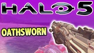 OATHSWORN SHOTGUN! (Ultra Rare Weapon) - Halo 5 Warzone