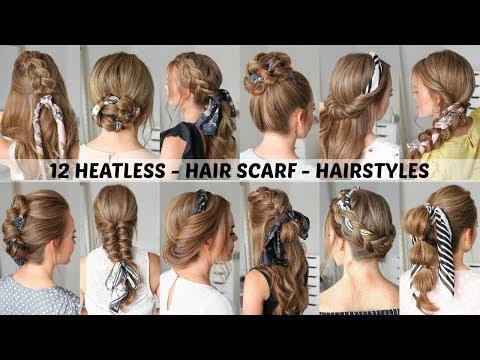 12 Hair Scarf Hairstyles | Back to School | Missy Sue