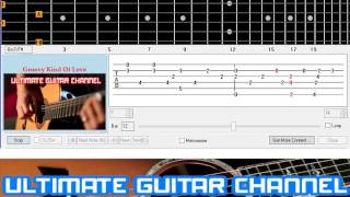 [Guitar Solo Tab] Groovy Kind Of Love (Phil Collins)
