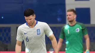 FIFA 20 GRECIA VS FINLANDIA EURO 2020 CLASIFICATORIOS