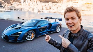 I RACED THE MCLAREN SENNA AT FRENCH F1 TRACK!! | NICO ROSBERG | eVLOG