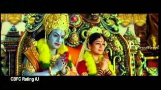 Sri Rama Rajyam Tamil Movie Trailer width=