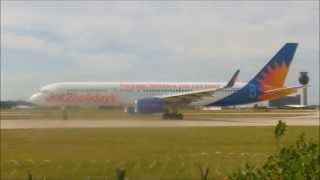 Jet2 | 757-200's | G-LSAK & G-LSAJ | Takeoff's At Manchester Airport | HD
