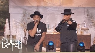 Queen Latifah and D.M.C. Perform 'Christmas in Hollis' (Full)
