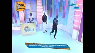 Bebo Clone feat Mc Cabinda   'Druka' Estreia Oficial no Programa Viva Tarde