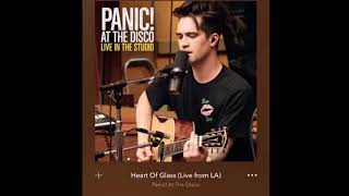 "Panic! At The Disco Covering Blondies ""Heart Of Glass"""