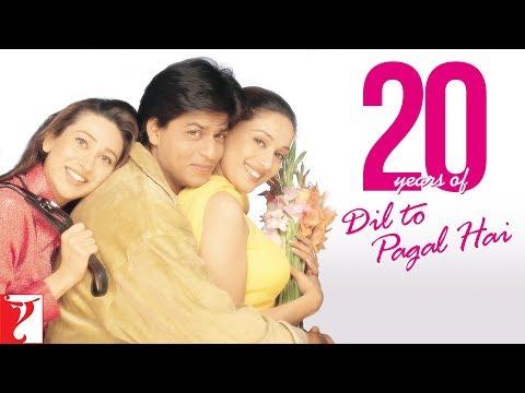 Celebrating #20YearsOfDilToPagalHai   Shah Rukh Khan   Madhuri Dixit   Karisma Kapoor   Akshay Kumar