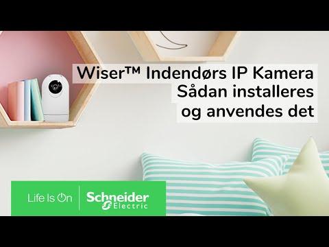 Wiser indendørs IP kamera | Schneider Electric