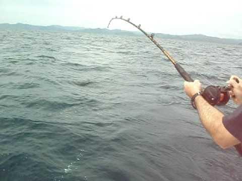 Sailfishing off San Juan del Sur, Nicaragua