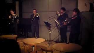 Jazz Trombone Quartet VOLTZ [Moonlight Serenade]