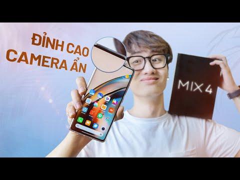 Mở hộp Xiaomi MIX 4: Camera ẩn cực ngon, nhưng Snap 888+ thì...