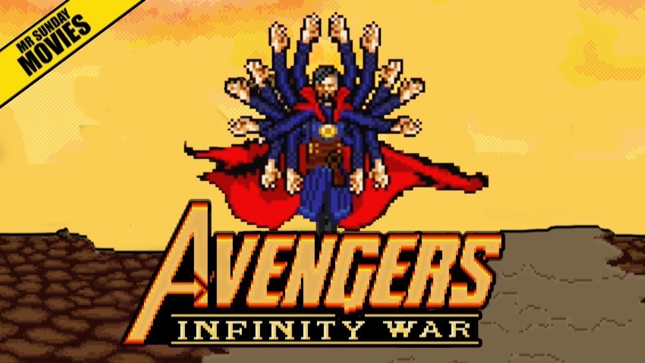 Here's Avengers: Infinity War As An 16-Bit, Co-Op Beat 'Em Up
