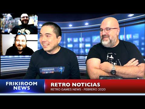 Retro Noticias - Videojuegos Retro e Indies [02/20]