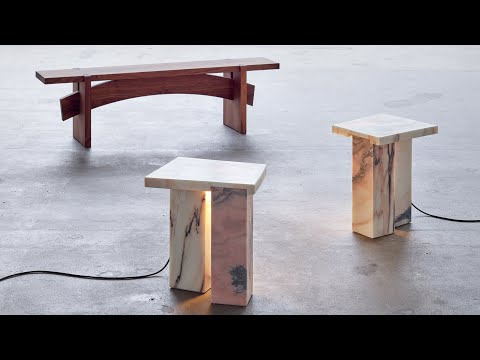 Bench 01 and Bedside Tables by Bahraini?Danish | The Mindcraft Project | Dezeen