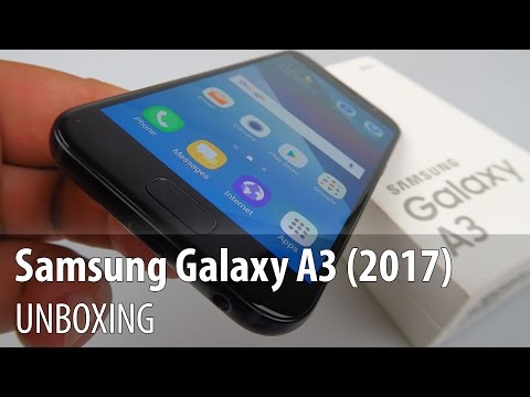 Samsung Galaxy A3 (2017) Unboxing în Limba Română