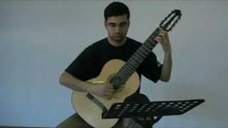 Lou Harrison - Sonata in Ishartum - Pythagorean Tuning / Microtonal Guitar