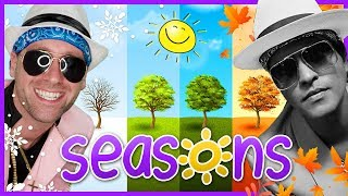 ☀️ Learn Seasons for Kids   Bruno Mars - Uptown Funk (Cover)   Mooseclumps   Kids Learning Songs