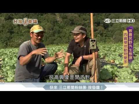 台灣野外觀察家 林青峰改變西寶部落|台灣真英雄|三立新聞台 - YouTube