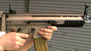WE FN SCAR-L GBB airsoft gun(closed chamber model)