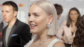 Anne-Marie bumps into Little Mix at the BRITs 2019 | Hits Radio