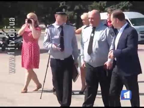 Нікопольська поліція отримала нові патрульні автомобілі