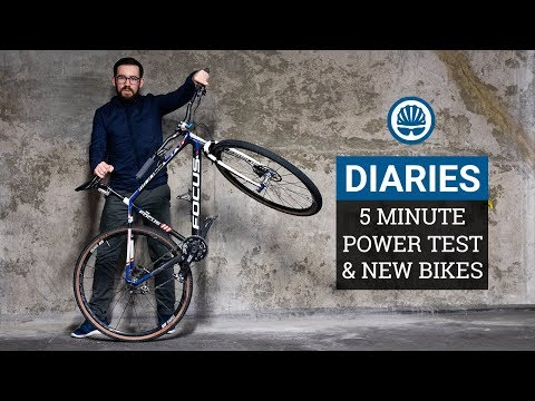 "Have We Lost Our Fitness"" 5 Minute Power Test & Reuben?s Awesome Single Speed - BikeRadar Diaries #2"