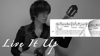 """Live It Up"" Nicky Jam feat. Will Smith & Era Istrefi [FIFA World Cup] / (Solo Guitar) 鷹城-Takajoe-"