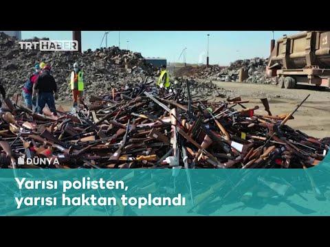 Belçika'da 22 bin silah fabrikada eritildi