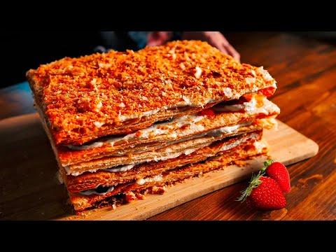 ЛУЧШЕ ЧЕМ ИЗ МАГАЗИНА! Шикарный торт НАПОЛЕОН!
