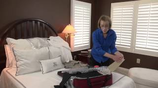 Can You Pack More Women's Clothes in a Suitcase by Rolling or Fold... : Smart Packing & Travel Tips