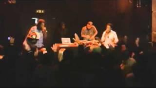 Dj Cruzfader feat Bob Da Rage Sense & Elaisa - De volta ao serviço(Ao vivo) HD