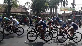 Asian game 2018 cabor balap sepeda indonesia pertama?