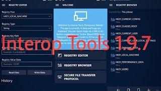 Interop Tools 1.9.7 para Windows 10 Mobile - Nova Versão