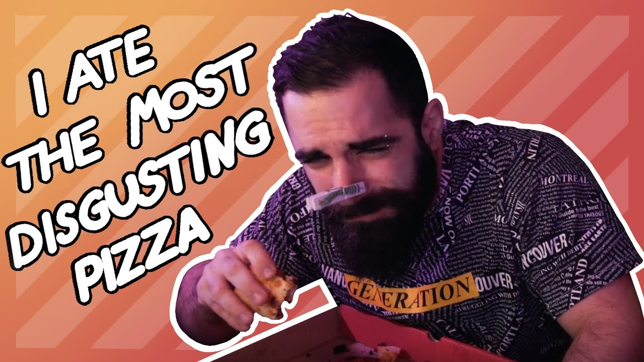 BeardedMuscle - THIS IS THE WORST PIZZA, DON'T EAT IT. 🍕🤮