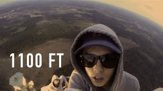 Climbing Sweden's HIGHEST tower (334m, Busted)