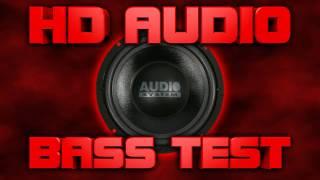 Heavy Basstest [HD AUDIO 1080p]