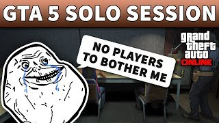 gta online pc solo public session