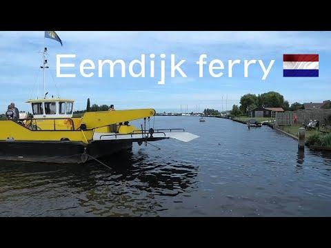 Eemdijk, cable ferry (Utrecht-Netherlands)