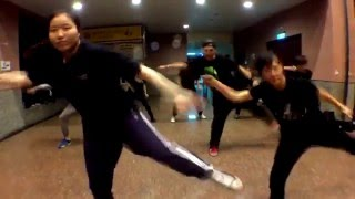 20160317南華熱舞社課-LOCKING(Michael Jackson - Bad (Afrojack Remix)