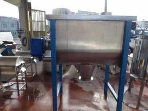 Toz Karıştırıcılar / Powder Mixers