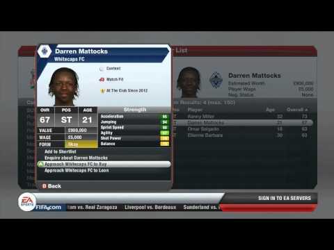 FIFA 13 Career Mode GAMEPLAY - Transfers (HD)