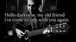 Leonard Cohen - Sound of Silence (tribute to Paul Simon)