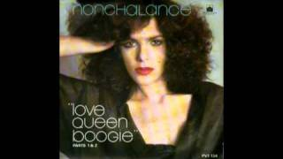 "NONCHALANCE 冷淡 sings "" LOVE QUEEN BOOGIE 愛皇后布吉 "" 1978"