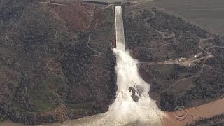 Officials race to repair California's Oroville dam